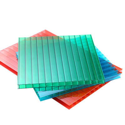 Polycarbonate Hollow Sheet light weight  flame resistance  Thermal insulation