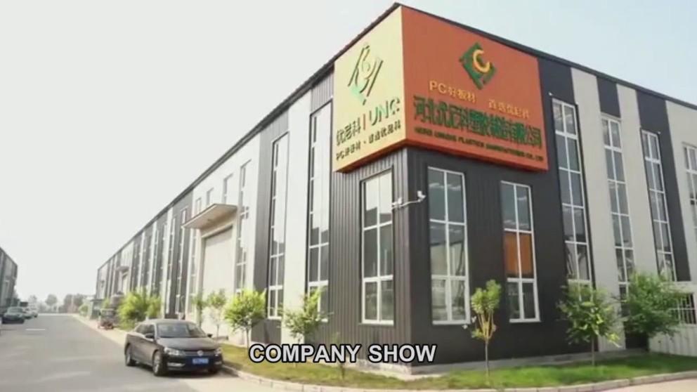 Corrugated polycarbonate sheet panels Video