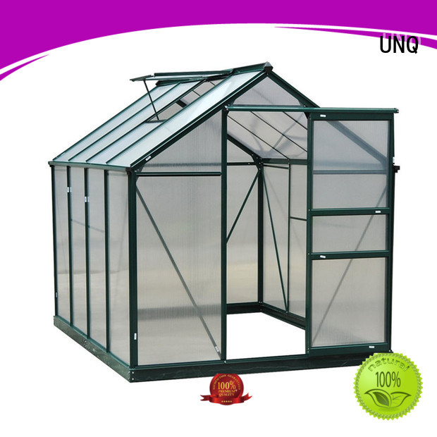 UNQ Latest polycarbonate panels price factory for flower planting