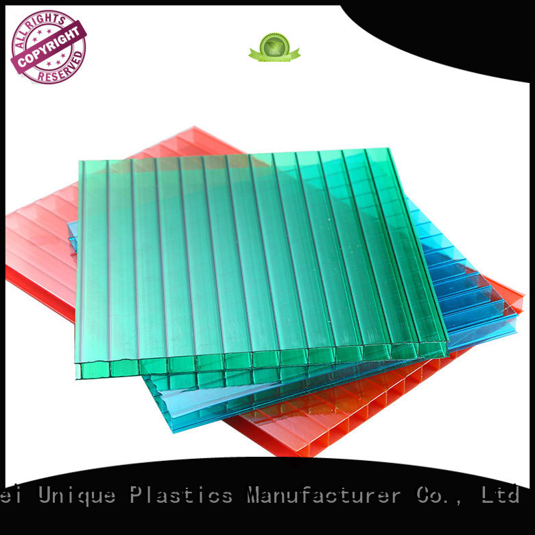 UNQ acetate sheets for business for architectural lighting roof