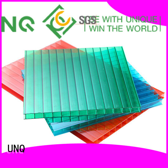 Custom clear flat polycarbonate sheeting manufacturers for architectural lighting roof