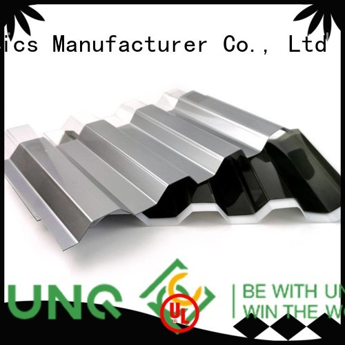 UNQ Top plastic laminate sheets factory for warehouse