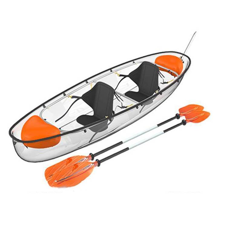 Transparent Clear Bottom Kayak Polycarbonate Canoe
