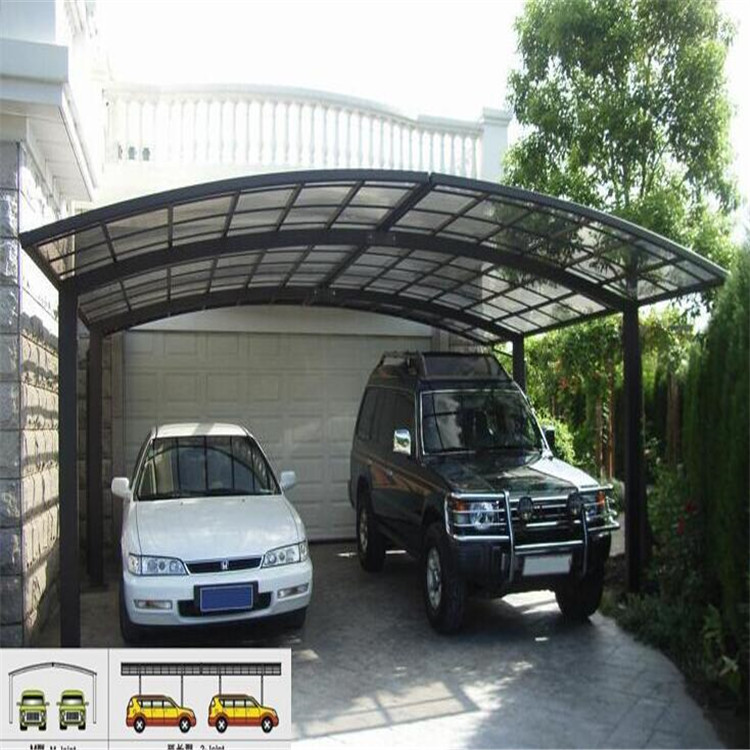 Polycarbonate Carport  For Sale for 2 Cars